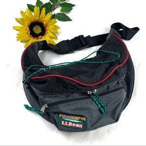 Vintage LL Bean Extra Large Fanny Pak Outdoor Bag